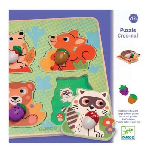 Puzzle croc-nut