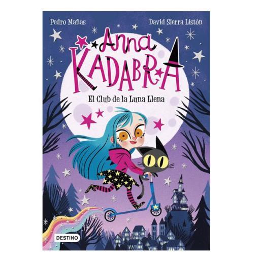 Anna Kadabra: El club de la luna llena