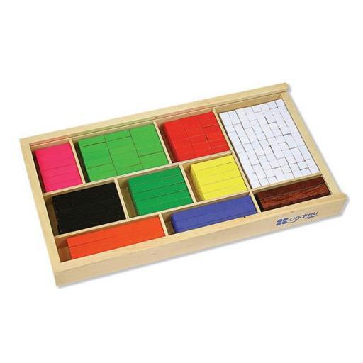 Regletas de fracciones (308 piezas)