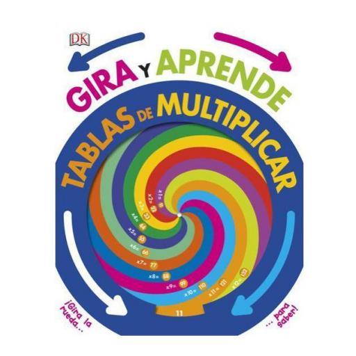 Gira y aprende las tablas de multiplicar