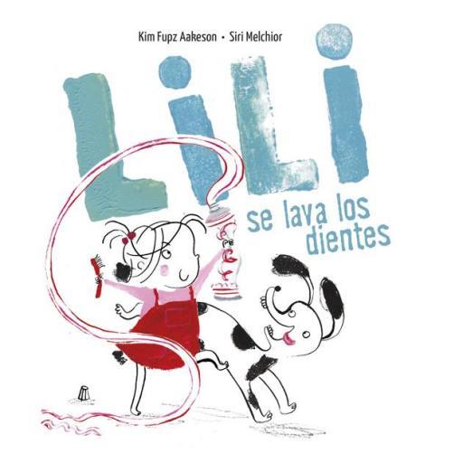 Lili se lava los dientes