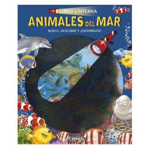 Libro linterna: Animales del mar