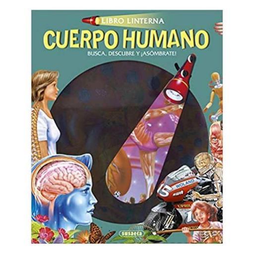 Libro linterna: Cuerpo humano