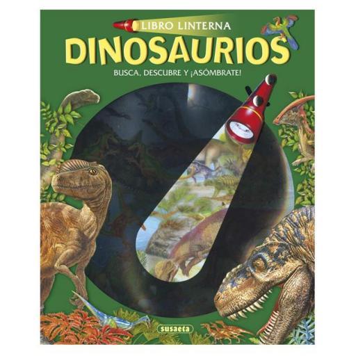 Libro linterna: Dinosaurios