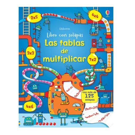 Las tablas de multiplicar (libro con solapas)
