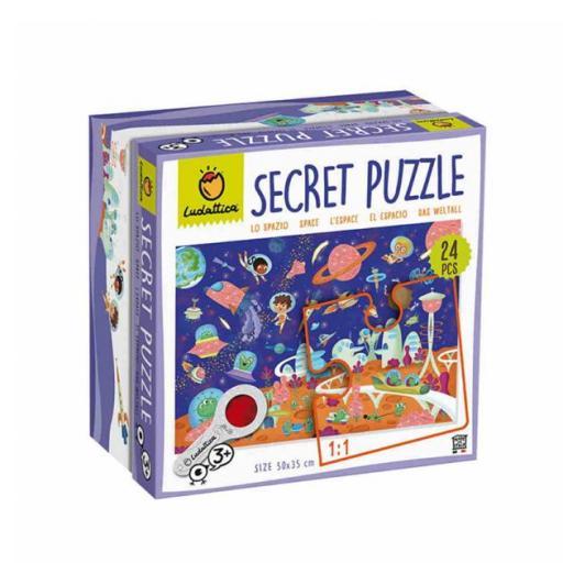 Secret puzzle. El espacio