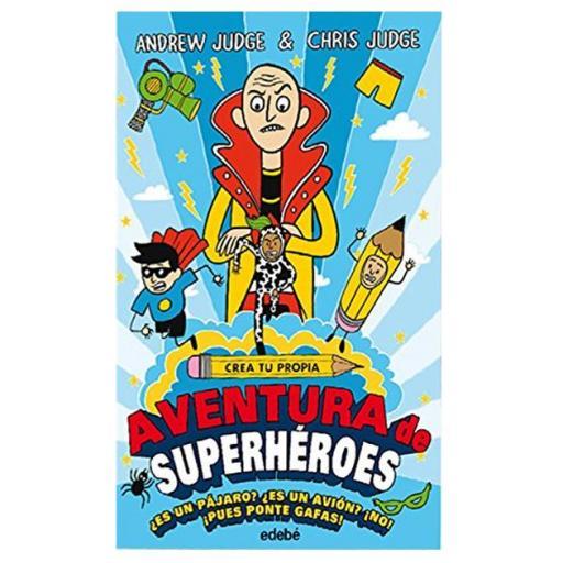 Crea tu propia aventura superhéroes