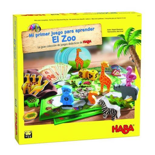 Mi primer juego para aprender: El zoo