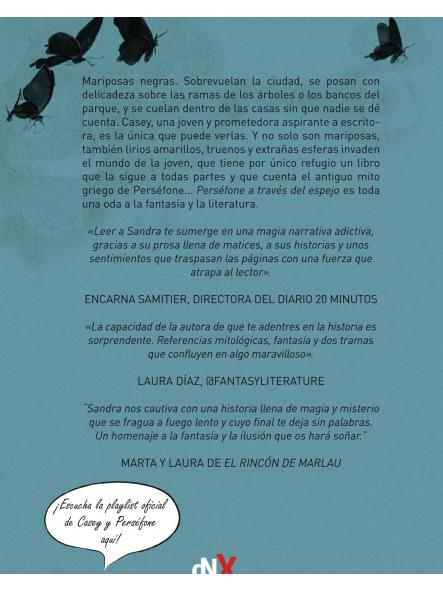 Caja exclusiva lanzamiento - Perséfone a través del espejo, Sandra Andrés [1]