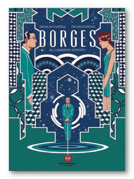 Borges, Nicolás Castell y Óscar Pantoja