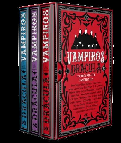 Vampiros, Dracula y otros relatos sangrientos