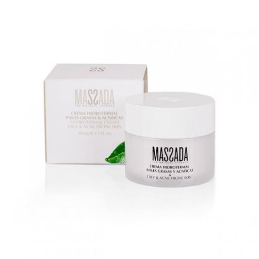 Crema hidrotermal pieles grasas y acnéicas