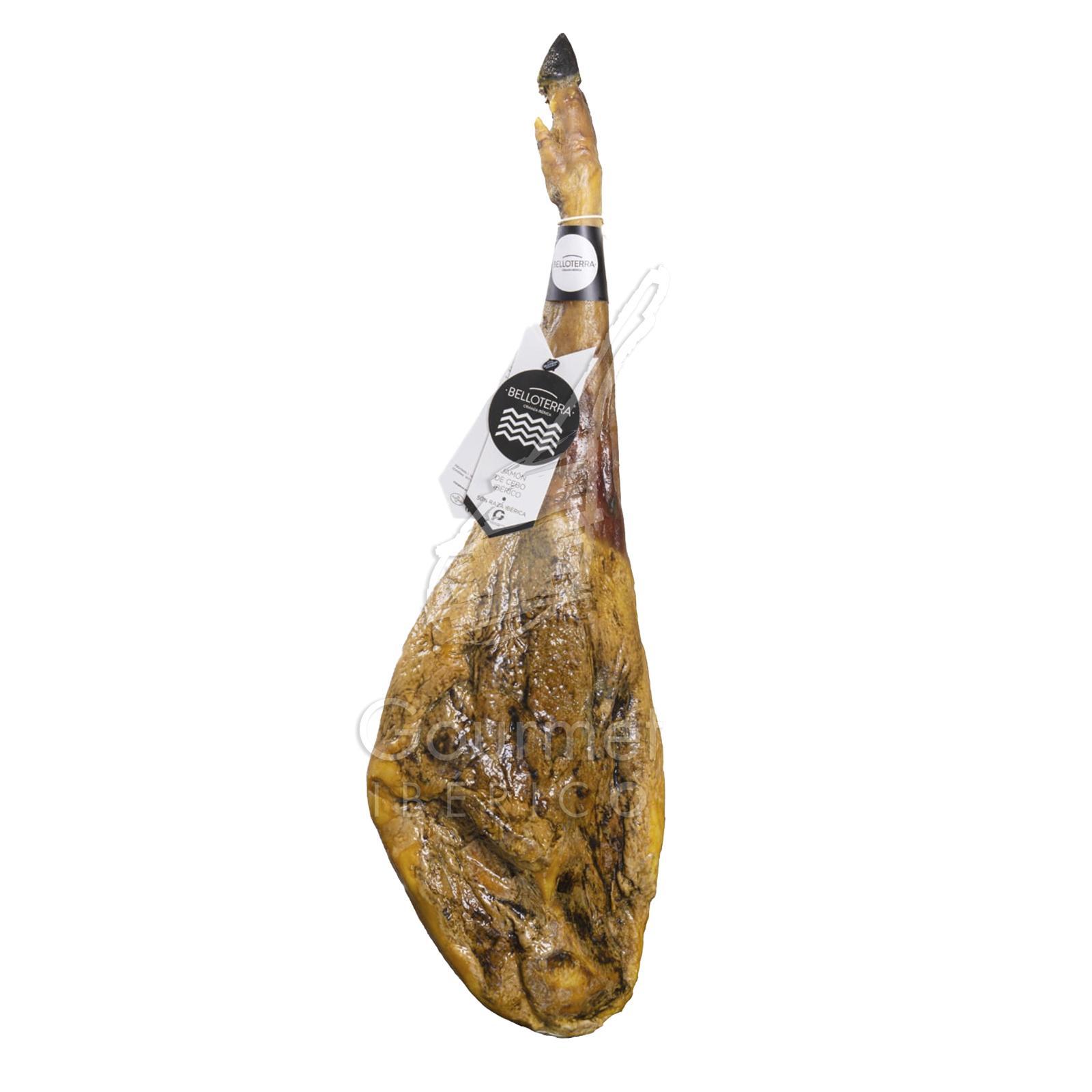 Jamón ibérico de cebo Belloterra 50% raza ibérica