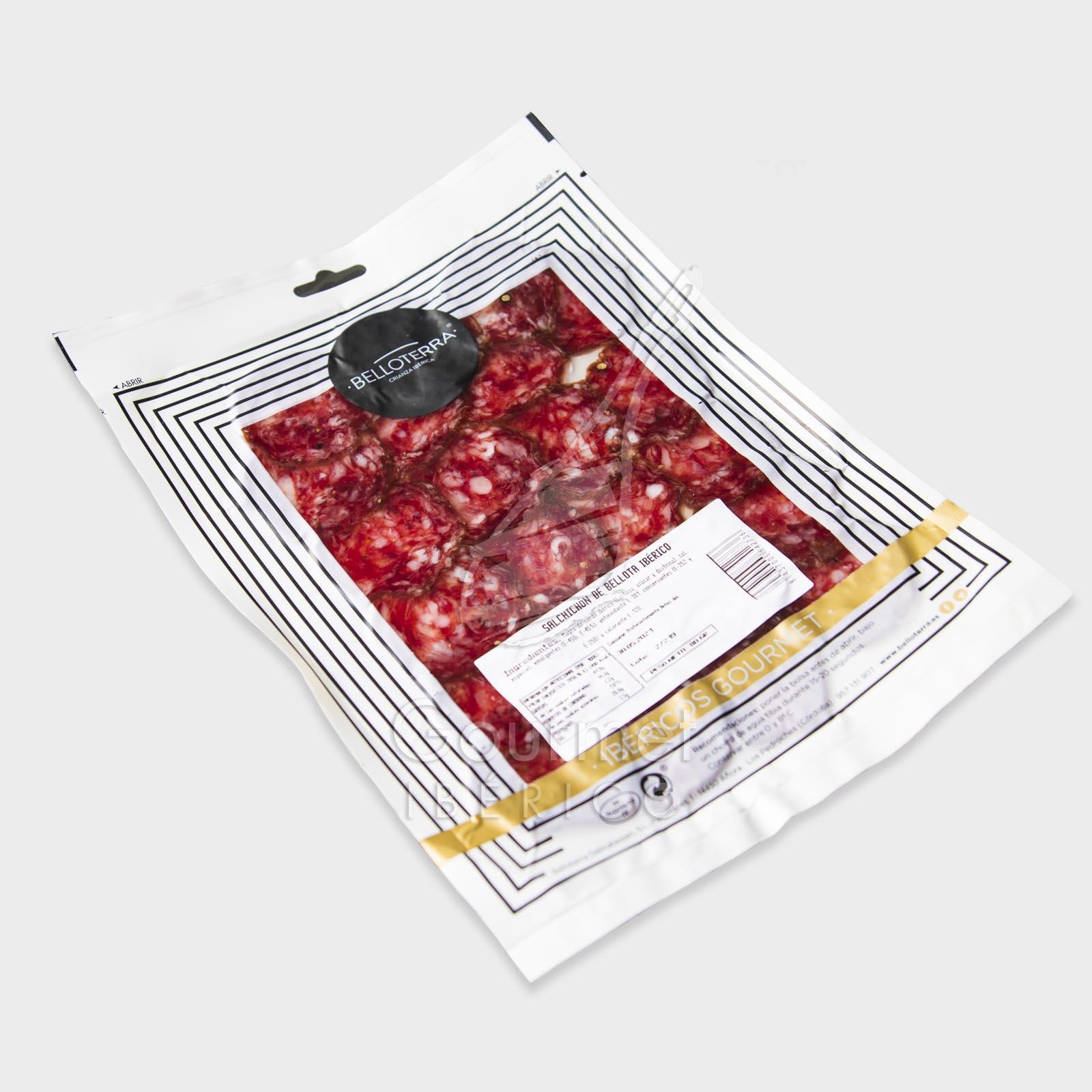 Salchichón ibérico de bellota loncheado