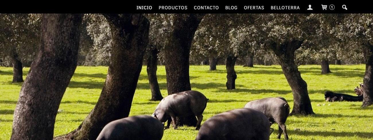 Nueva tienda online de Gourmet Ibérico