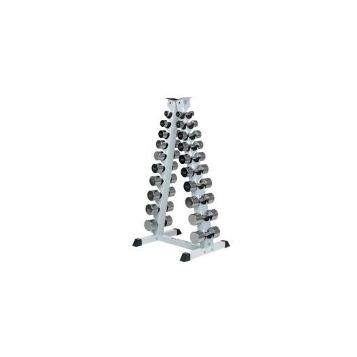 Mancuernero Pirámide - Rack Vertical - 10 Pares [3]