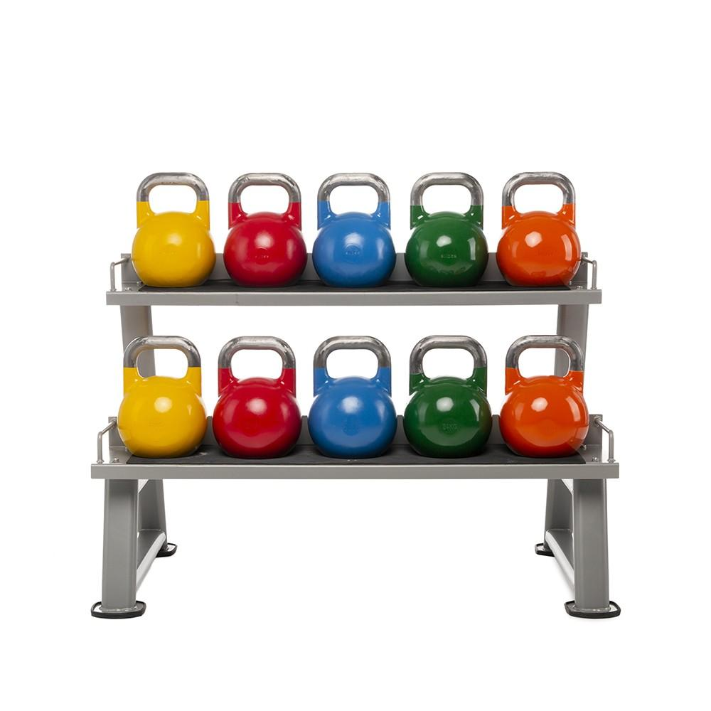 Soporte - Rack para 12 Kettlebells