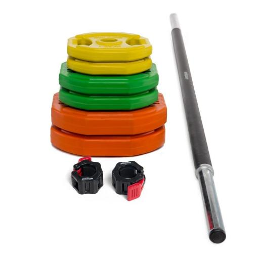 Set de Body Pump (con collarines de cierre Lock Jaw Collar)