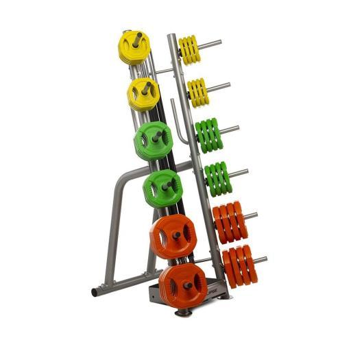 Soporte - Rack para 12 Sets de Body Pump [1]
