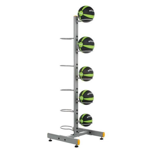 Soporte - Rack Vertical Doble para 10 Balones Medicinales [1]