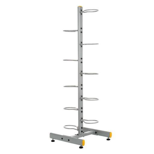 Soporte - Rack Vertical Doble para 10 Balones Medicinales [2]