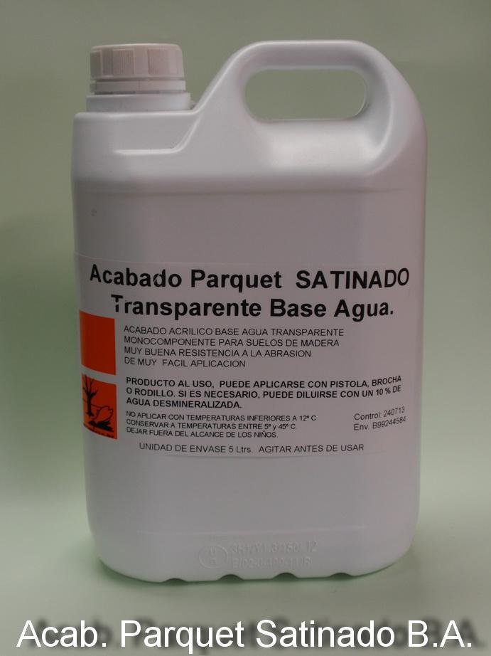 ACAB, PARQUET SATINADO 5 Litros