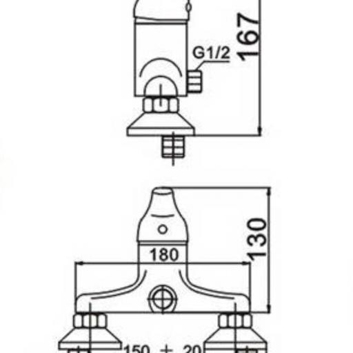 301406110 Monomando Ducha Basic  [1]