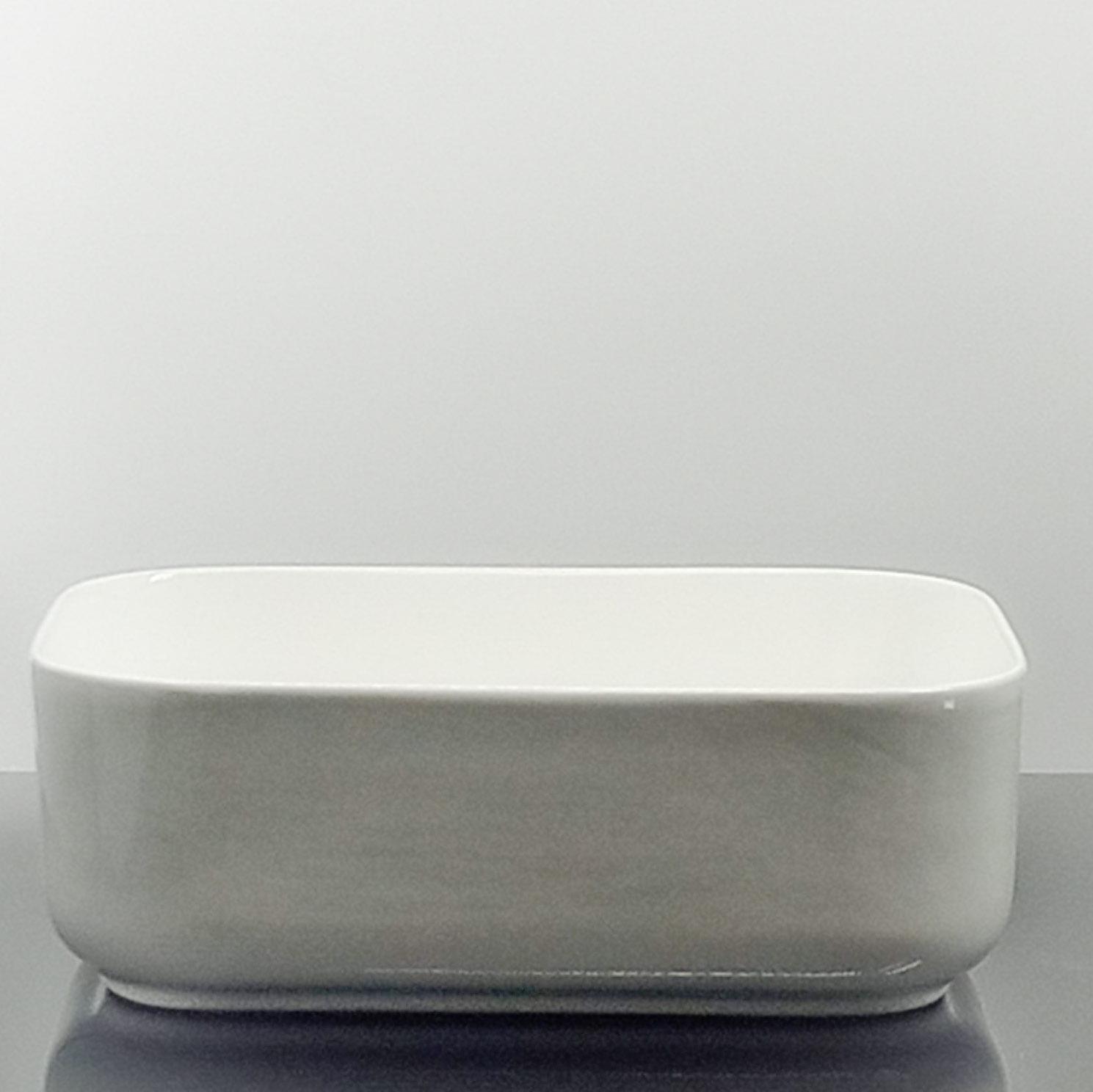 LAVCB40X30X14   Lavabo Cerámico Blanco Brillo