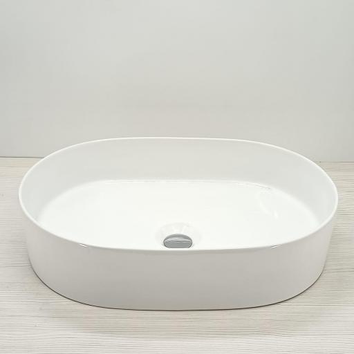 LAVCB50X34X12   Lavabo Cerámico Blanco Brillo