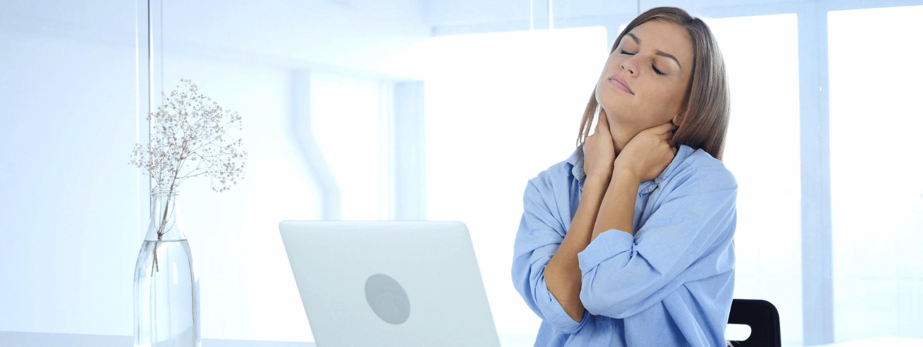 Como Aliviar el Dolor Cervical