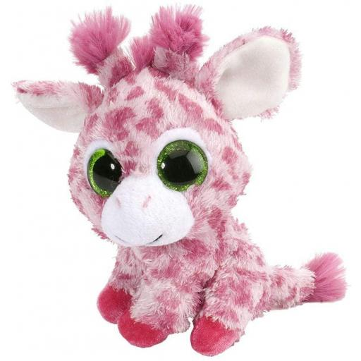 PELUCHE JIRAFA 13 CM COLOR FRESA WILD REPUBLIC