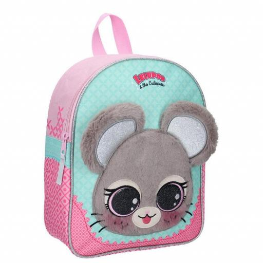MOCHILA INFANTIL LULUPOP & THE CUTIEPIES ANIMALS MOUSE