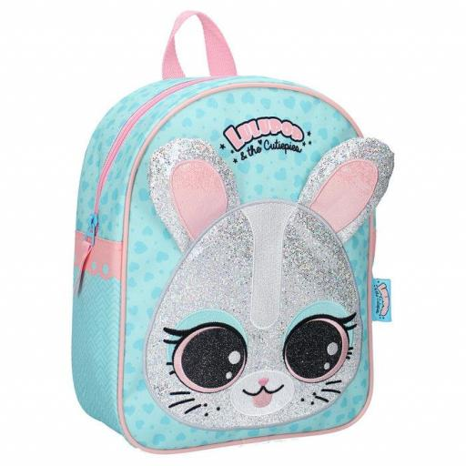 MOCHILA INFANTIL LULUPOP & THE CUTIEPIES ANIMALS BUNNY