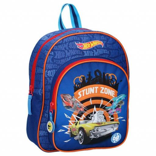 MOCHILA INFANTIL HOT WHEELS STUNT ZONE INFANTIL