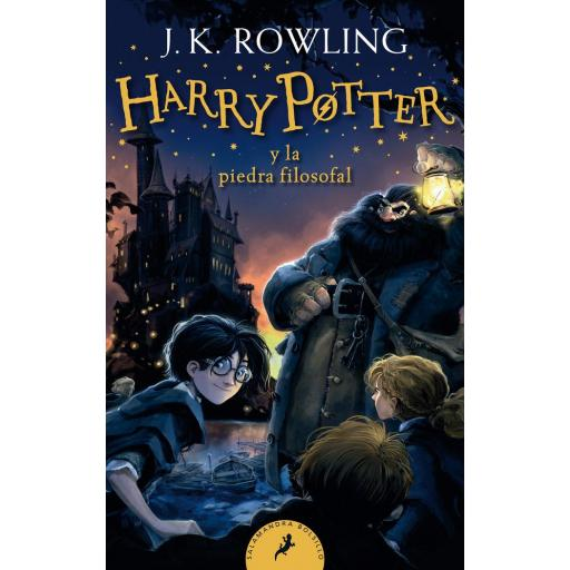 HARRY POTTER Y LA PIEDRA FILOSOFAL (HARRY POTTER 1) J.K. ROWLING
