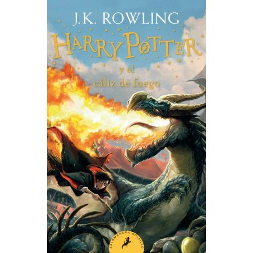 HARRY POTTER Y EL CALIZ DE FUEGO (HARRY POTTER 4) J.K. ROWLING
