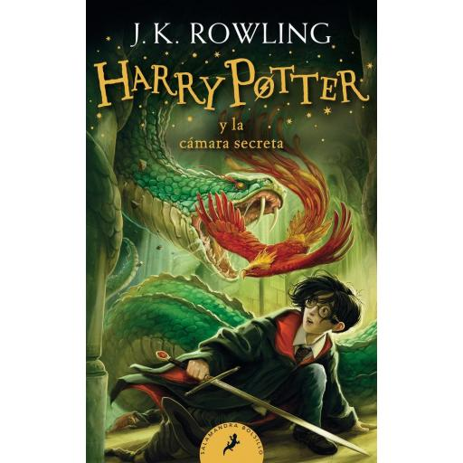HARRY POTTER Y LA CÁMARA SECRETA (HARRY POTTER 2) J.K. ROWLING