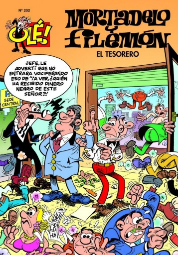 MORTADELO Y FILEMON Nº 202 EL TESORERO FRANCISCO IBAÑEZ