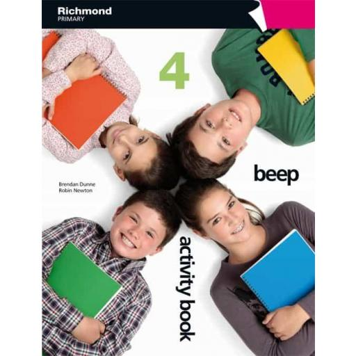 BEEP 4º EDUCACION PRIMARIA ACTIVITY BOOK PACK VV.AA.