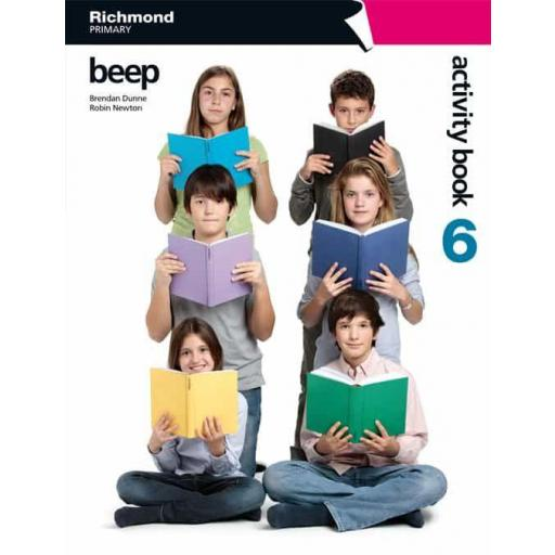 BEEP 6 ACTIVITY BOOK PACK VV.AA.