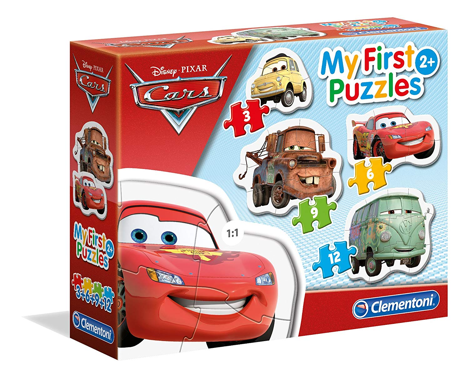 MY FIRST PUZZLE CARS 2+
