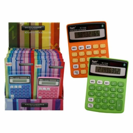CALCULADORA PAMPY 8 DIGITOS