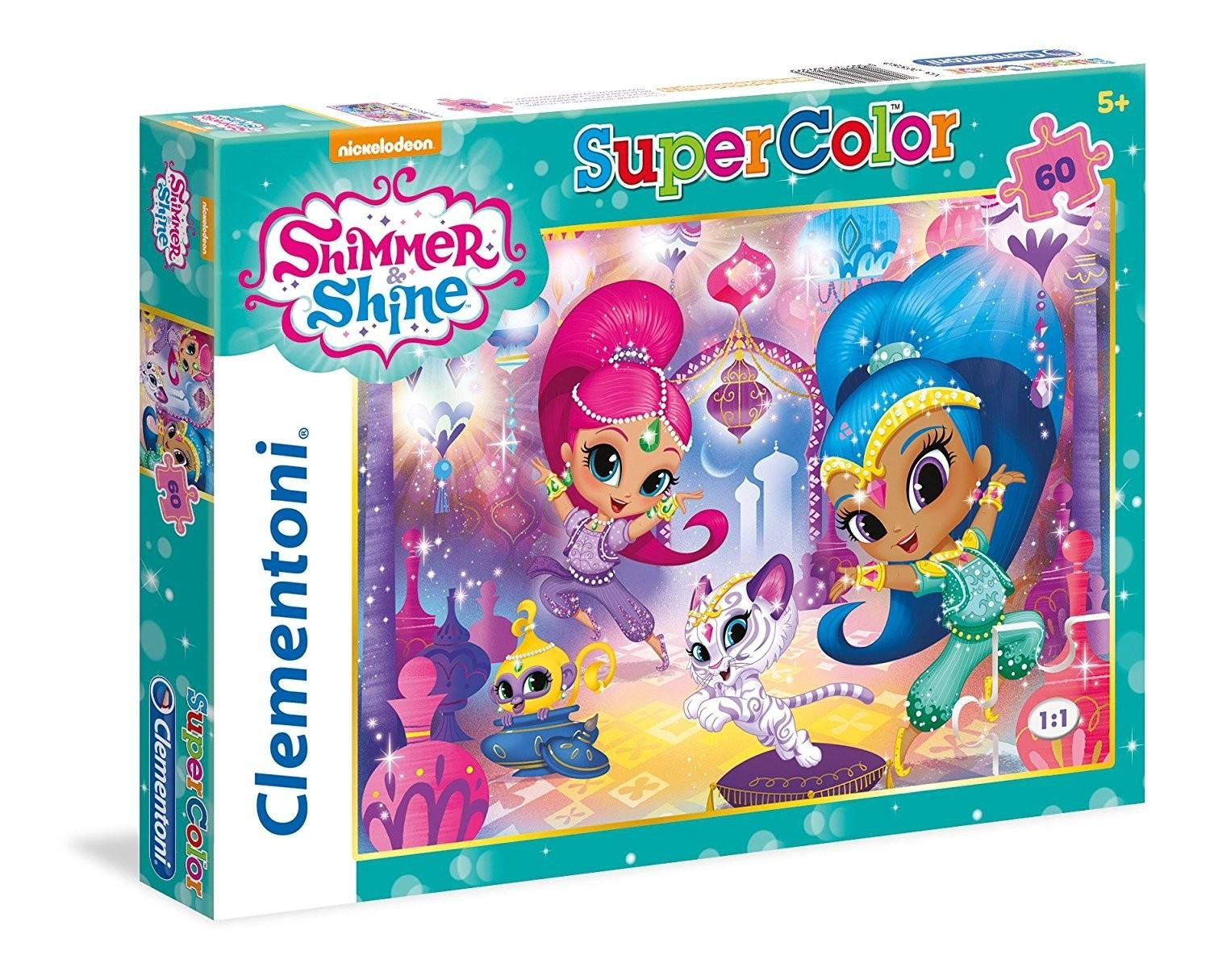 PUZZLE SHIMMER AND SHINE 60 PIEZAS