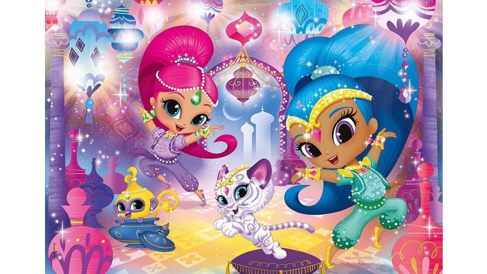 PUZZLE SHIMMER AND SHINE 60 PIEZAS [1]