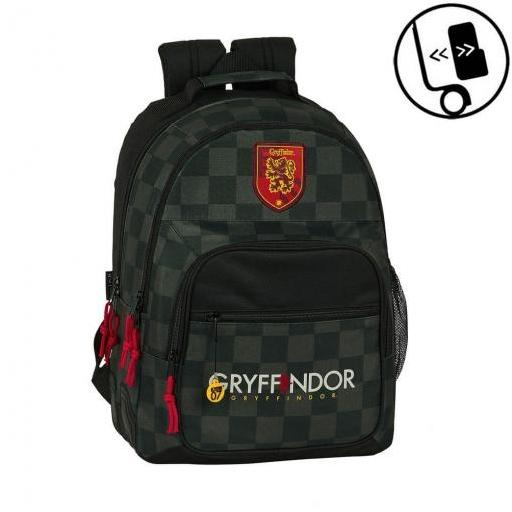 MOCHILA HARRY POTTER GRYFFINDOR DOBLE REFORZADA