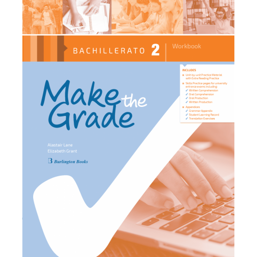 MAKE THE GRADE 2º BACHILLERATO WORKBOOK VV.AA.
