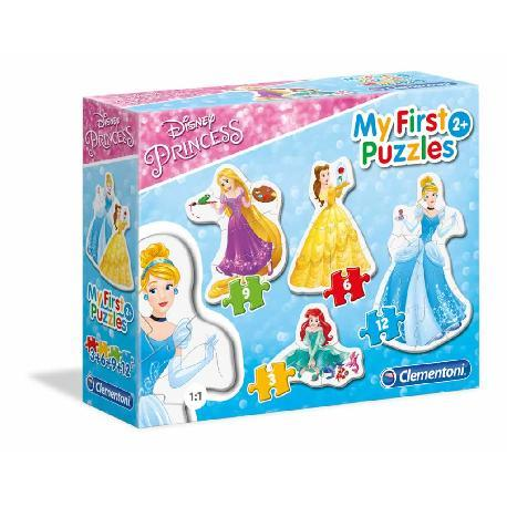 MY FIRST PUZZLES PRINCESS 2+