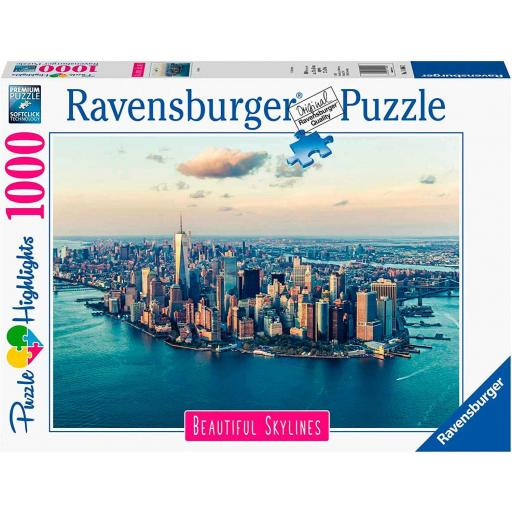 PUZZLE SKYLINE NEW YORK 1000 PIEZAS