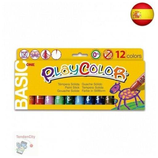 TEMPERA SOLIDA PLAY COLOR 12 COLORES