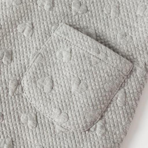 Vestido de niña gris Corazones [2]